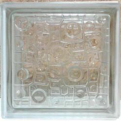بلوک شیشه ای کاوه مدل باران ( رین )