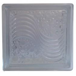 بلوک شیشه ای کاوه مدل موج و حباب