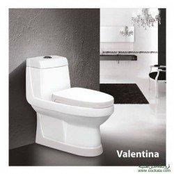 توالت فرنگی مروارید مدل والنتیا