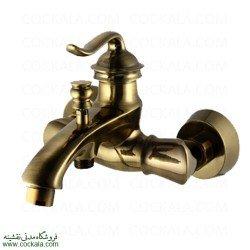 شیر حمام البرز روز مدل اسپیرال طلا مات
