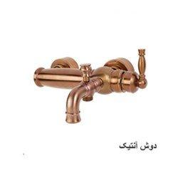 شیر حمام قهرمان مدل آنتیک طلا مات