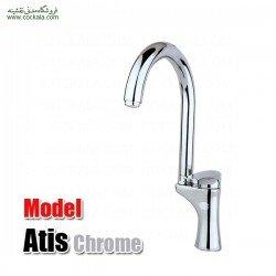شیر سینک ظرفشویی راسان مدل آتیس کروم