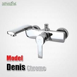 شیر دوش حمام راسان مدل دنیس کروم