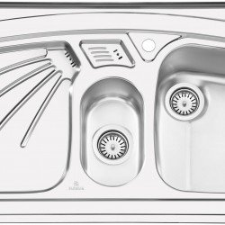 سینک روکار پرنیان استیل مدل PS1106