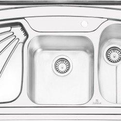 سینک روکار پرنیان استیل مدل PS1107