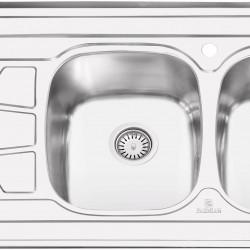 سینک روکار پرنیان استیل مدل PS1108