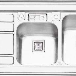 سینک روکار پرنیان استیل مدل PS1111