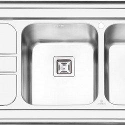 سینک روکار پرنیان استیل مدل PS1112