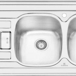 سینک روکار پرنیان استیل مدل PS1101