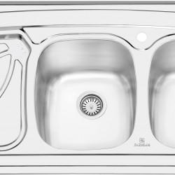 سینک روکار پرنیان استیل مدل PS1102