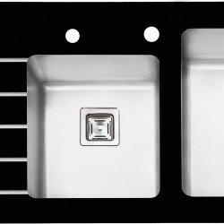 سینک شیشه ای پرنیان استیل مدل PS 4105