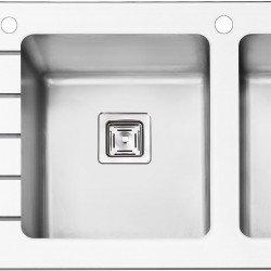 سینک شیشه ای پرنیان استیل مدل PS 4106 سفید