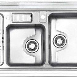 سینک روکار استیل البرز مدل 813