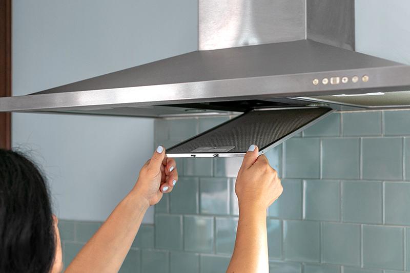 انواع فیلتر هود آشپزخانه - فیلتر آلومینیومی هود آشپزخانه - تعویض فیلتر هود