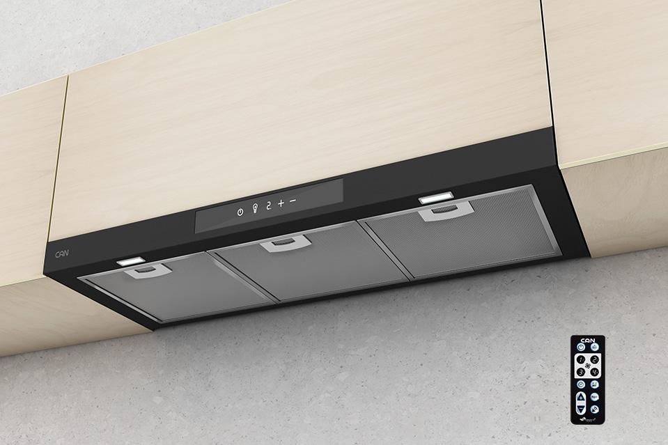 هود توکار کم صدا - هود مدل ۱۴۵۰ یک هود بسیار کم صدا کن است.
